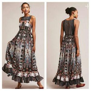 Anthropologie Bhanuni by Jyoti Amira Tiered Dress
